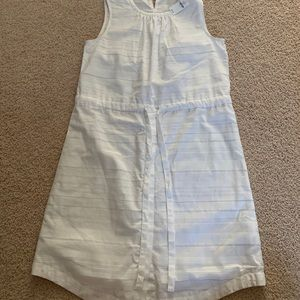 White dress from Gap